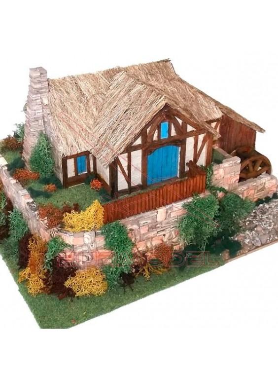 Kit de construcción casa parque Nueva Zelanda