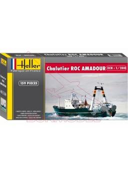 Maqueta Chalutier Roc Amadour escala 1/200