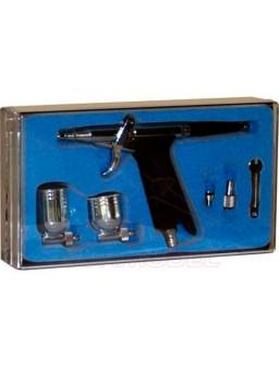 Pistola aerográfica D116 doble cubeta