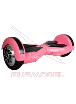 """Patinete Balance Scooter 8"""" Rosa Bluetooth"""