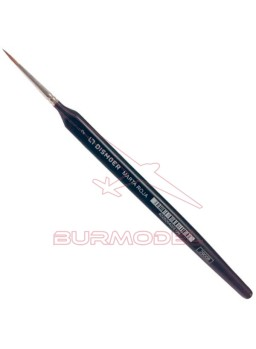 Pincel Marta Roja triangular Nº2