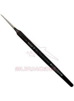 Pincel Marta Roja triangular Nº1