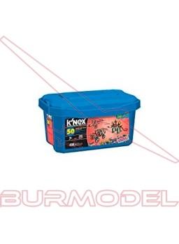 K'Nex Baúl Azul Imagine 417 piezas 50 modelos