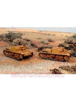 Semovente M40 da 75/18. 2 modelos. Escala 1:72