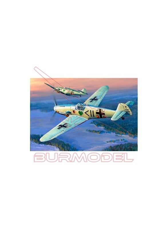 Avión alemán Messerschmitt BF-109 F2. Escala 1/72