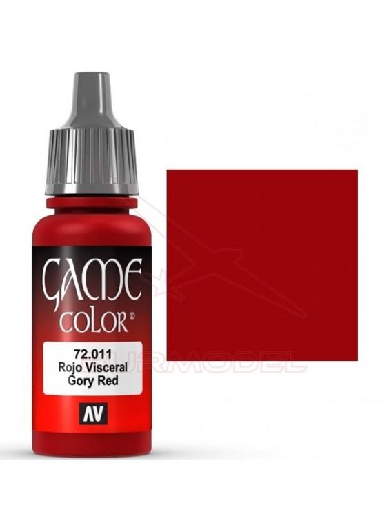 Pintura Rojo Visceral Game Color