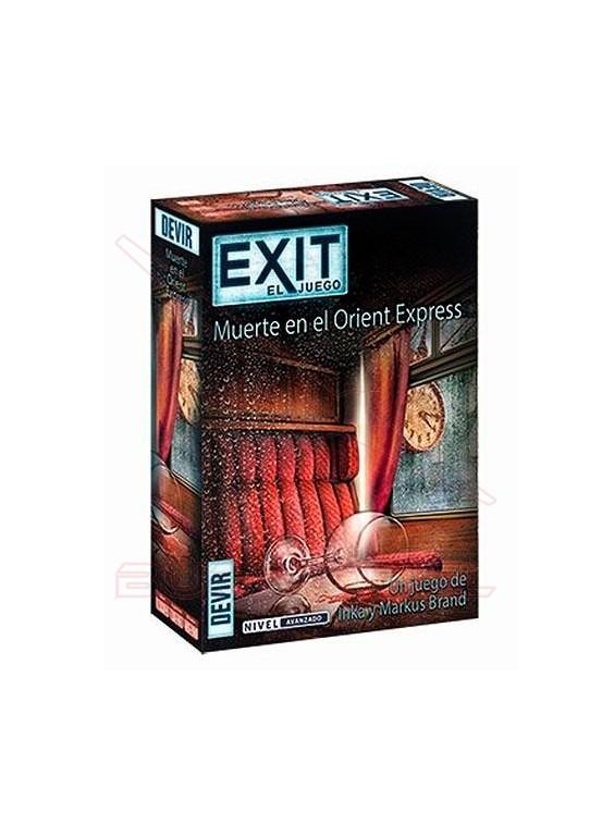 Juego de mesa Exit Muerte en el Oriente Express