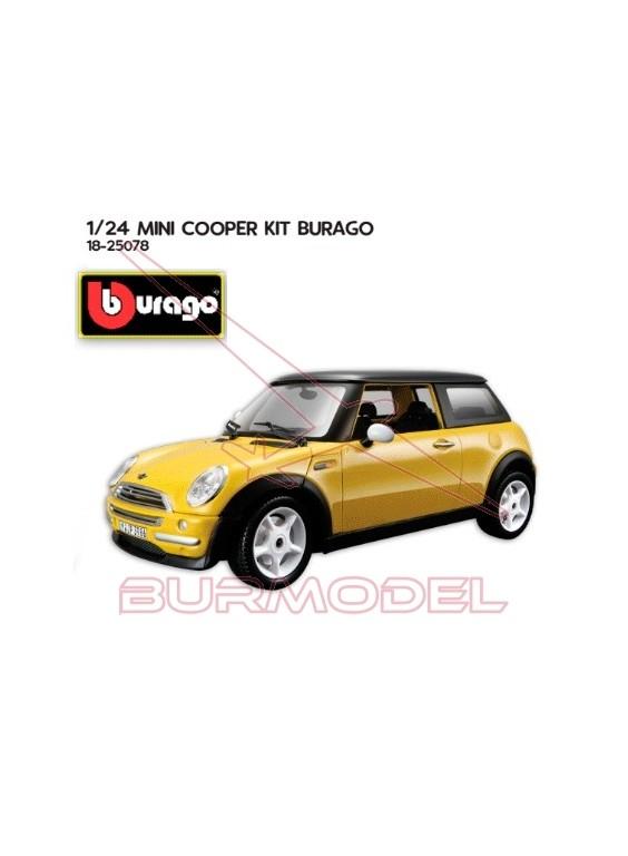 Mini Cooper (2001) 1/24 Kit metal y plástico