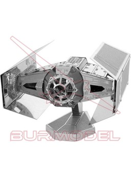 Maqueta de metal Star Wars Tie Fighter Darth Vader