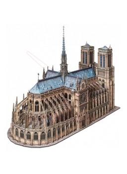 Catedral de Notre Dame Paris en papel