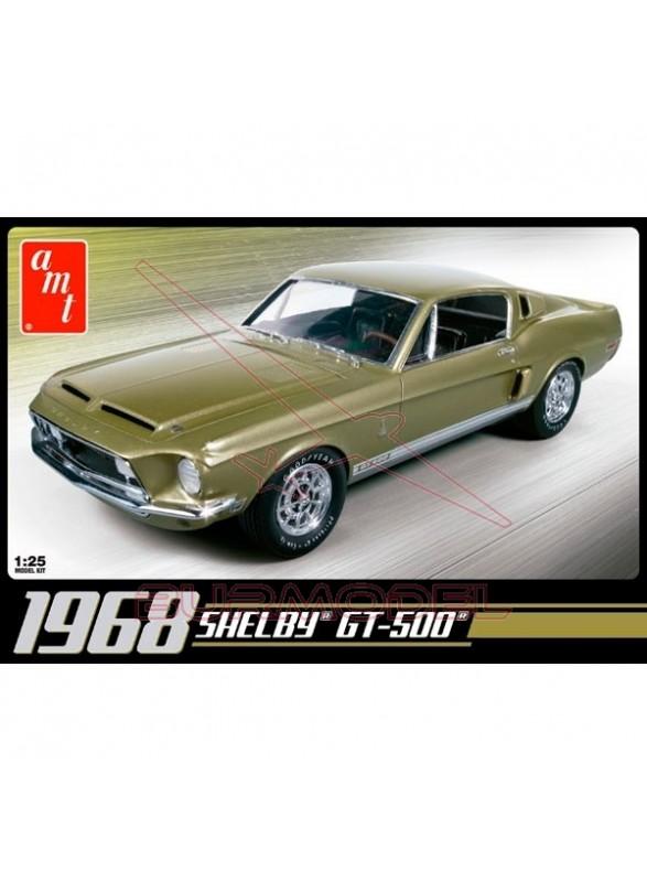Maqueta para montar AMT Shelby GT500 1968 1/25