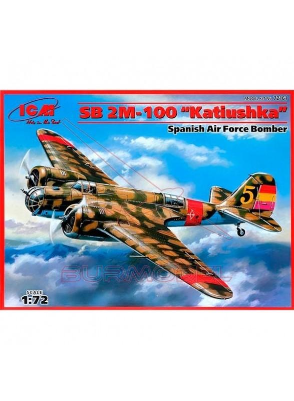 """Maqueta avión """"Katiuska"""" español 1:72"""