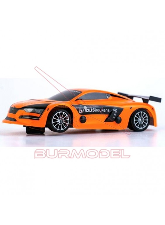 Coche slot Renault RS Orange 1/32