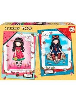 Set de 2 puzzles 500 piezas Gorjus