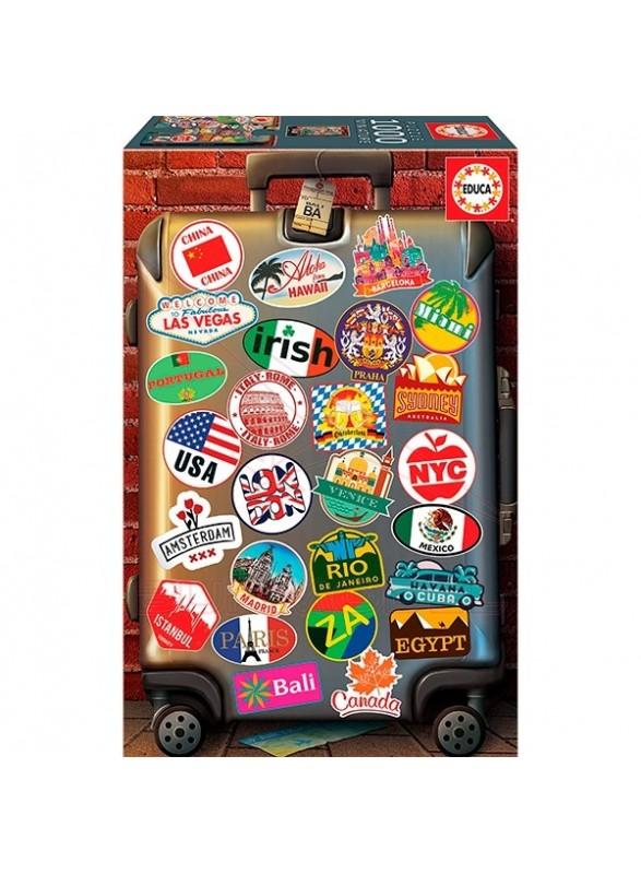 Puzzle 1000 piezas love to travel