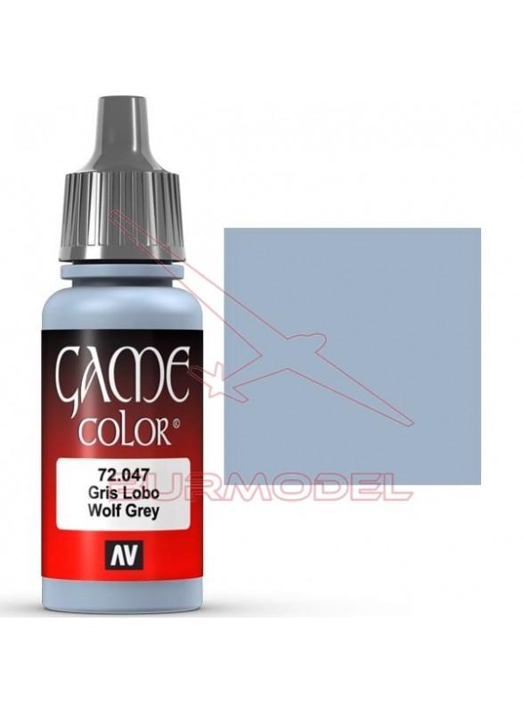 Pintura Game Color Gris Lobo 17ml