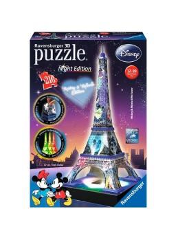 Torre Eiffel Disney con luz en 3D 216 pzs