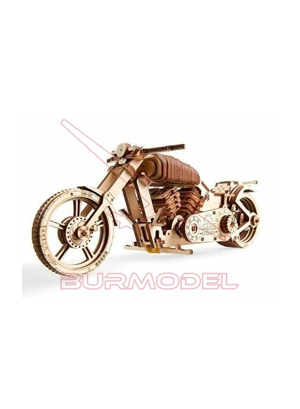 Maqueta de madera Moto VM-02
