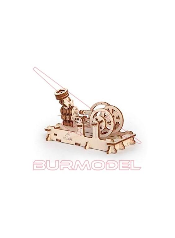Maqueta de Madera Motor Neumático