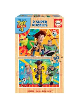 Puzzle 2x50 Toy Story 4 FSC
