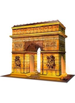 Puzzle 3D Arco del Triunfo con luz 216P pzs