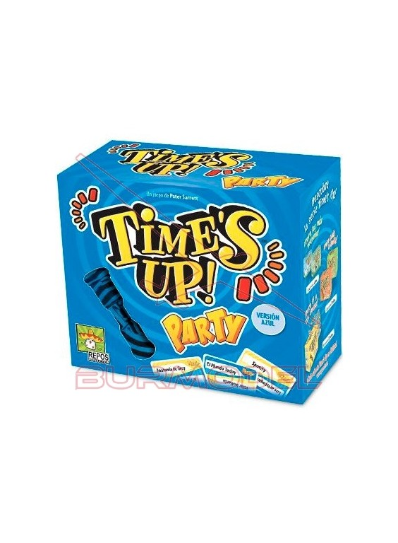 Juego de mesa Time´s up party 2 azul