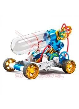Vehículo propulsado con aire comprimido