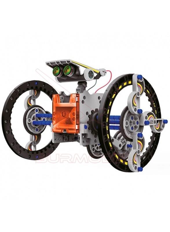 Kit solar 14 en 1. Robots