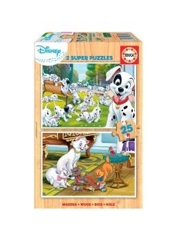 Set 2 puzzles perritos