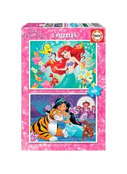 2 Puzzles princesas