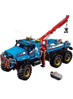 Camión grúa todoterreno 6x6 Lego Technic