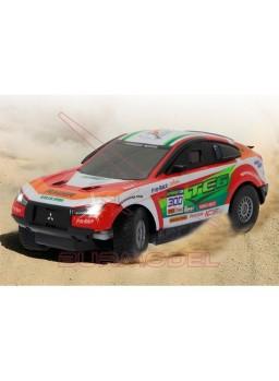 Coche rc Mitsubishi Lancer Rally 1:16
