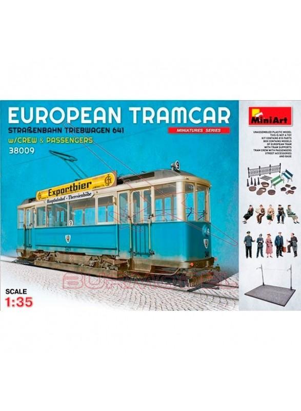 MiniArt Tranvía Europeo 1/35