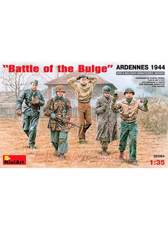 Battle of the Bulge Ardennes 1944 1/35