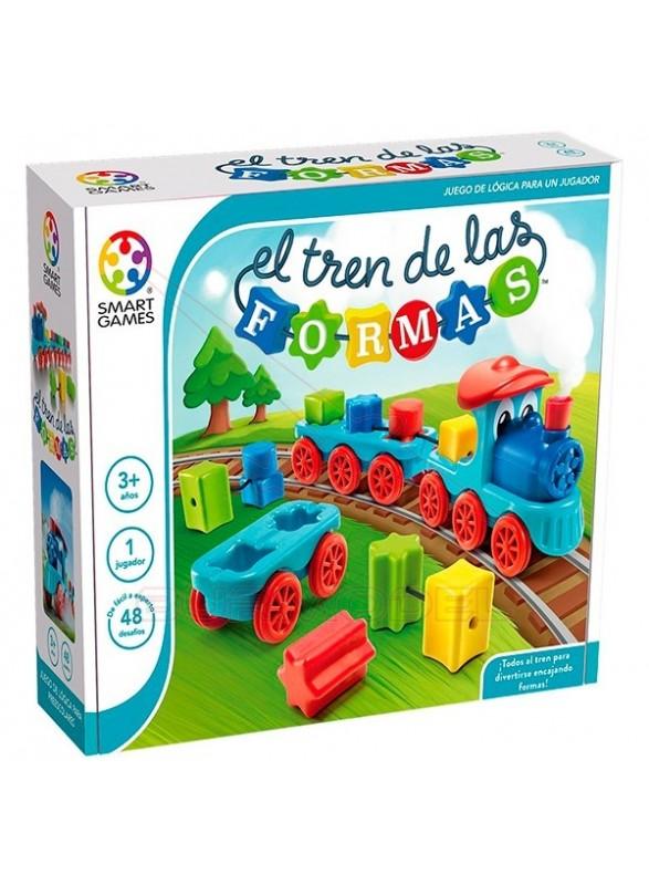 El tren de las formas juego de lógica Smart Games