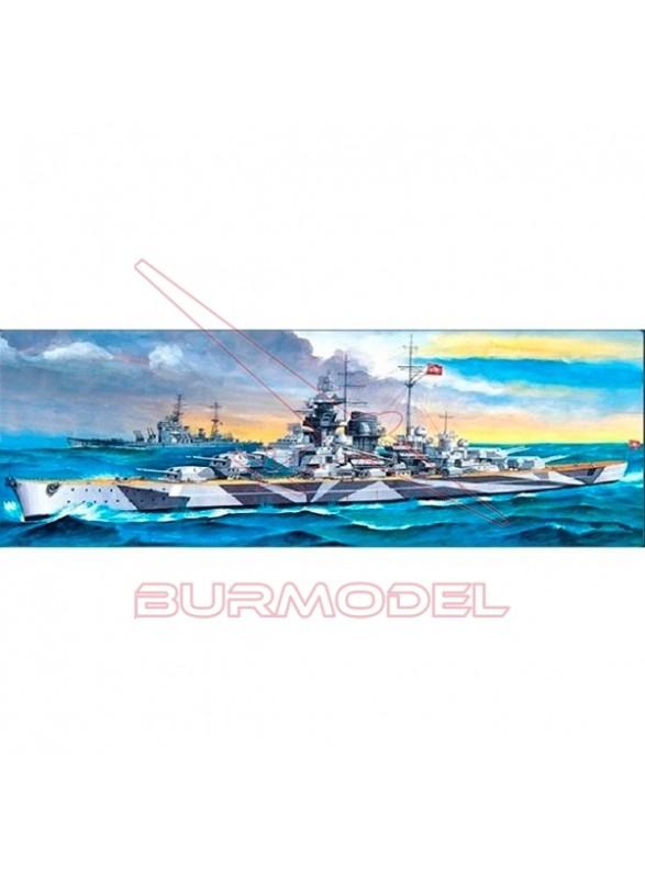 Maqueta acorazado TIRPITZ German Battleship 1/800
