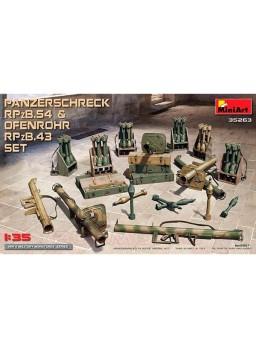 Accesorios MiniArt Panzerschreck RPzB.54&Ofenrohr