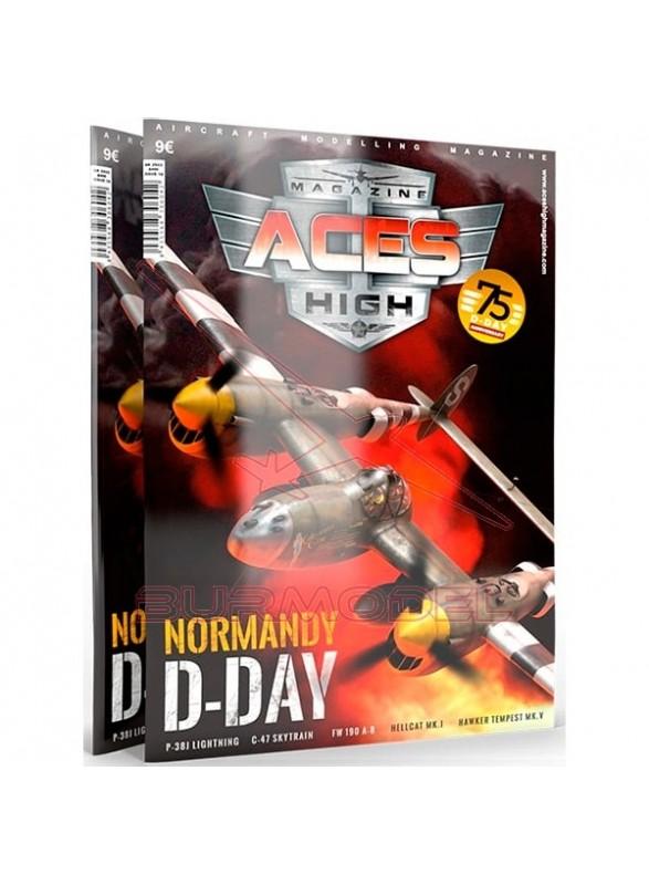 Revista modelismo Aces High 16 Día-D Normandía