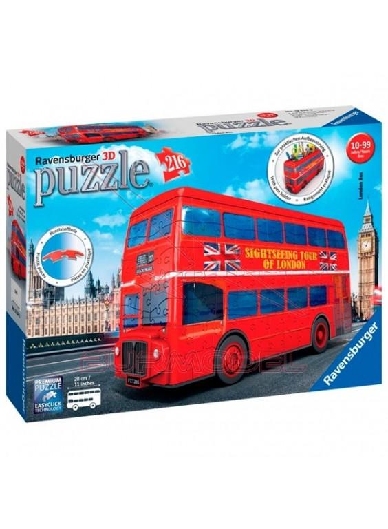 Autobús de Londres 3 dimensiones