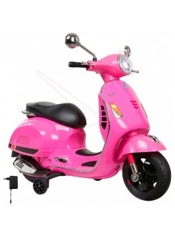 Ride-on Vespa GTS 125 fucsia 12v