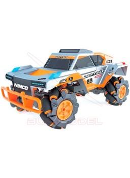 Drift Trax coche con ruedas de rodillos