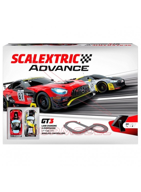 Circuito Scalextric Advance GT3