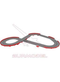 Circuito Scalextric GT Open 1/32