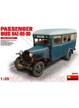 Autobús pasajeros GAZ-03-30 1/35 MiniArt