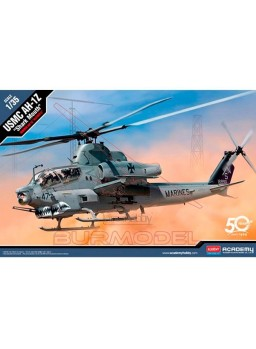 Maqueta helicóptero USMC AH-1Z Shark Mouth 1/35