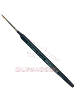 Pincel Marta roja triangular Nº3