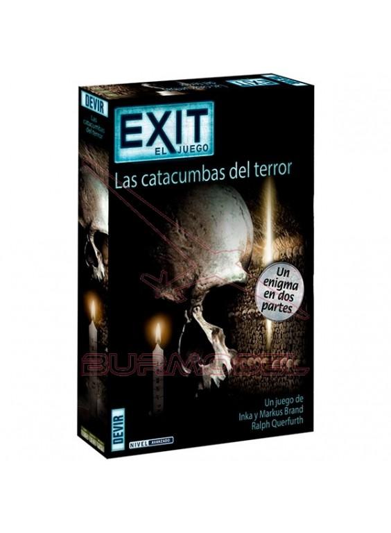 Juego Exit 9 Las catacumbas del terror (Doble)