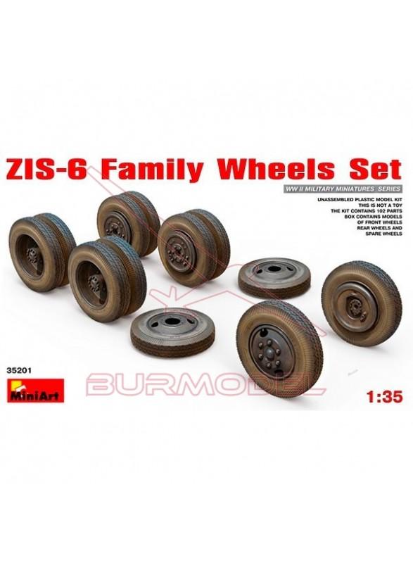 Accesorios ZIS-6 ruedas accesorio II GM