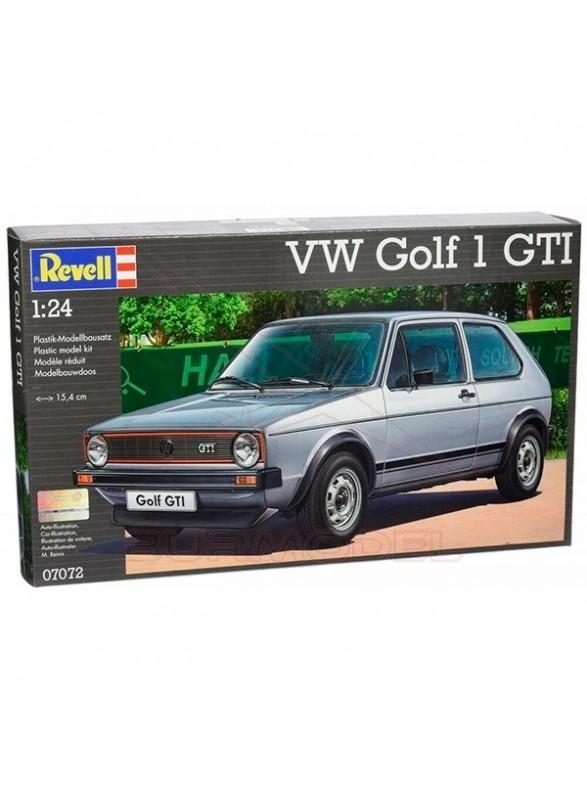 Maqueta coche VW Golf 1 GTI 1/24 Revell