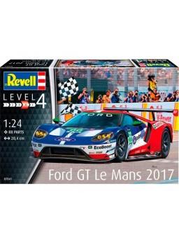 Maqueta coche Ford GT Le Mans 2017 Revell 1/24